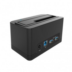 Dock station pour lecture DD 2.5  3.5  carte SD