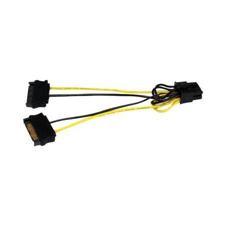 adaptateur SATA vers carte vidéo PCI Exp 8 broches