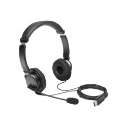 Kensington USB Hi-Fi Headphones with Mic
