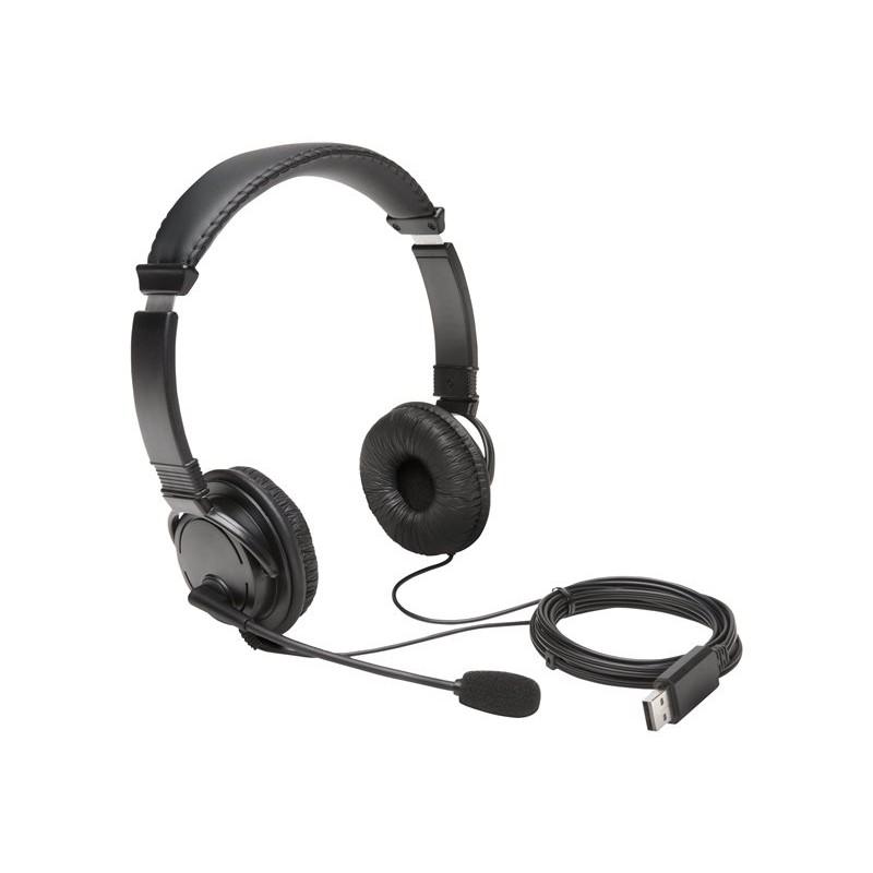 Kensington USB Hi-Fi Headphones with Mic